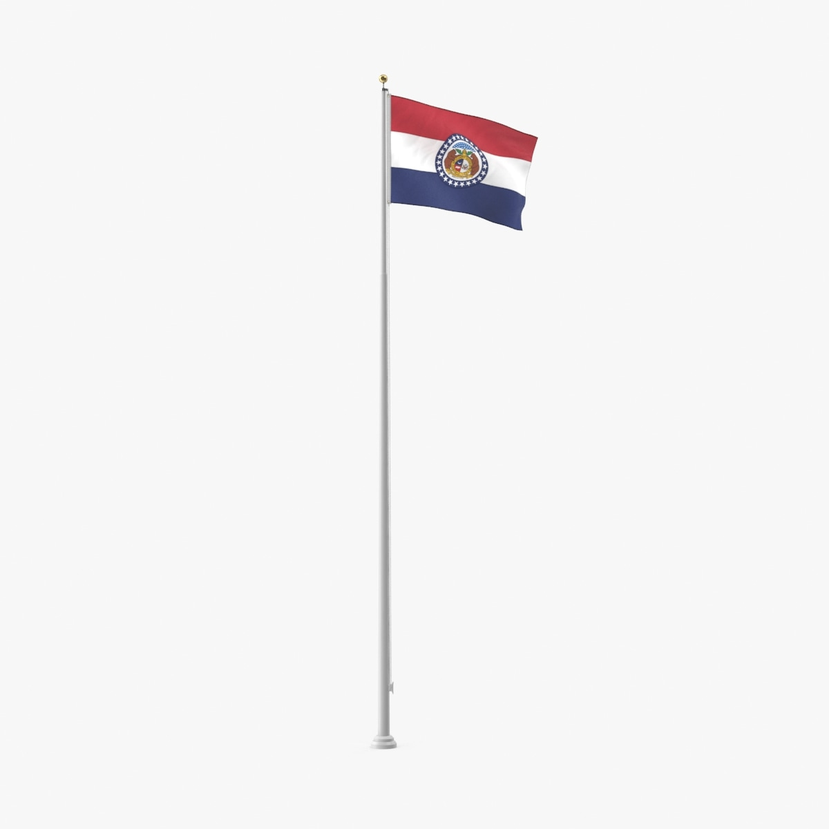 state-flags---missouri 3D model