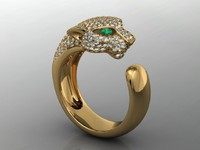 pantere ring 3D model