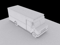 high poly step van