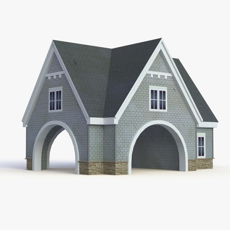 house golf course model
