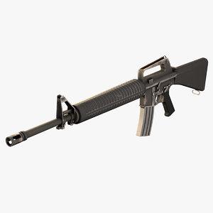 3D m16 rifle games