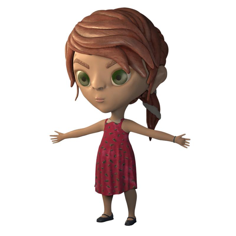child girl model