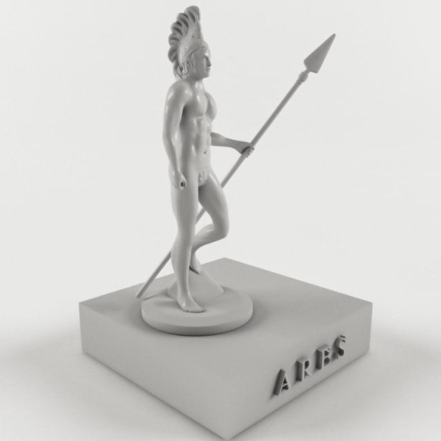 ancient mythological greece model