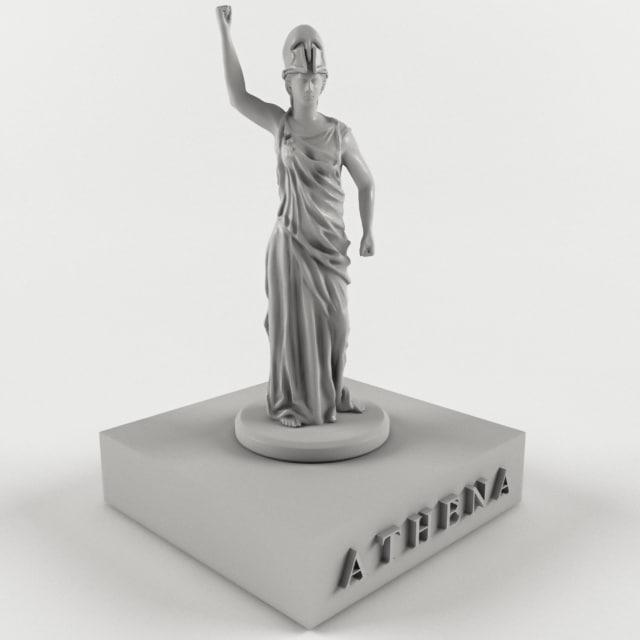 ancient mythological greece 3D model