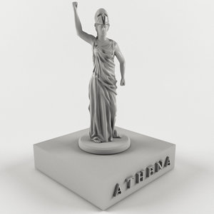 ancient mythological greece 3D model
