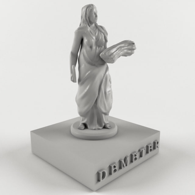 ancient mythological greece 3D