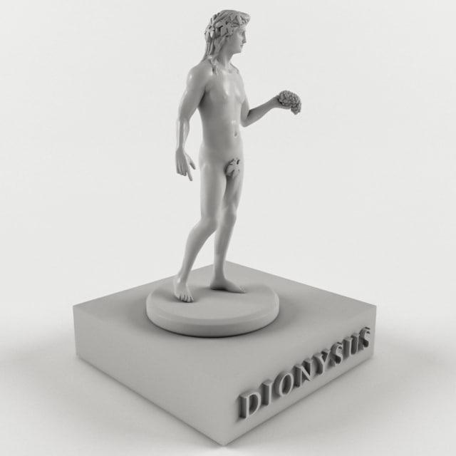 3D ancient mythological greece