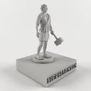 Hephaestus 3D models