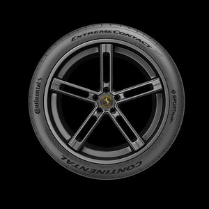 continental extreme contact tire 3D