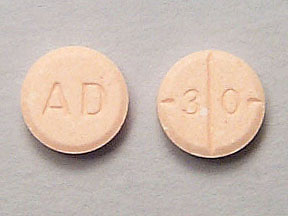 3D adderall pill stamp model