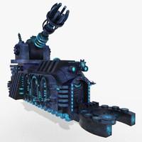 3D train future model