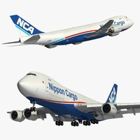 3D boeing nippon cargo model
