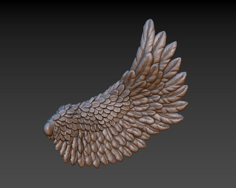 3D wings printing