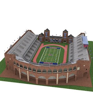 3D university pennsylvania franklin field