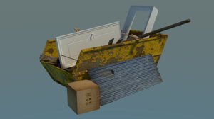 3D model skip clean