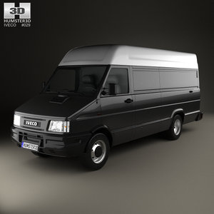 iveco daily panel 3D model