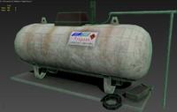 diffuse gas 3D model