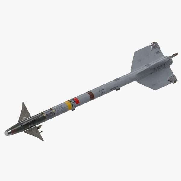 aim-9m sidewinder 3D model