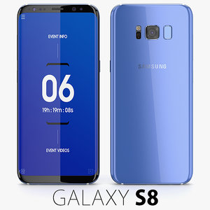 samsung galaxy s8 3D model