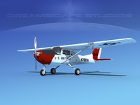propellers cessna mescalero 3D