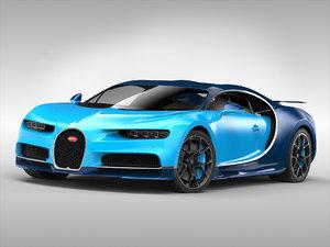 bugatti chiron 2017 model