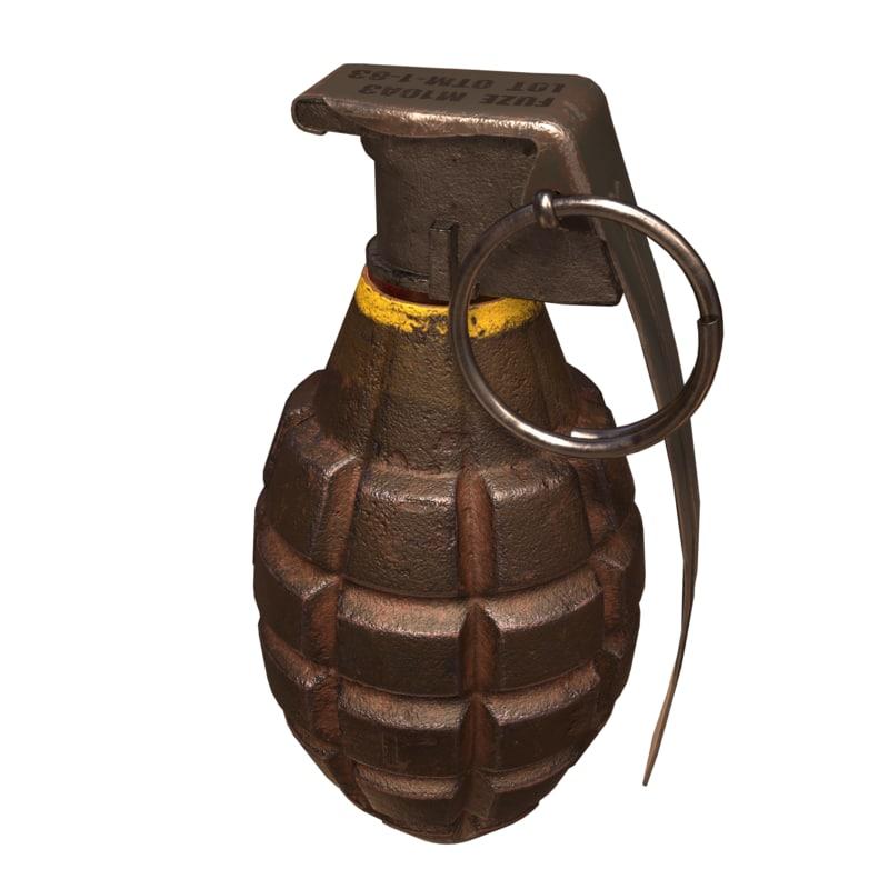 grenade mk2 3D