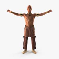 3D iroquois model