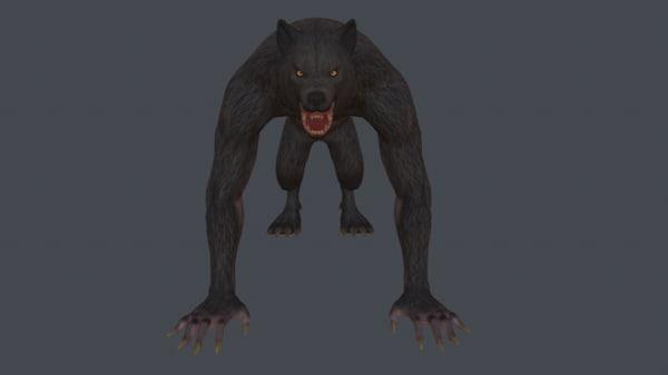 3D werewolf games