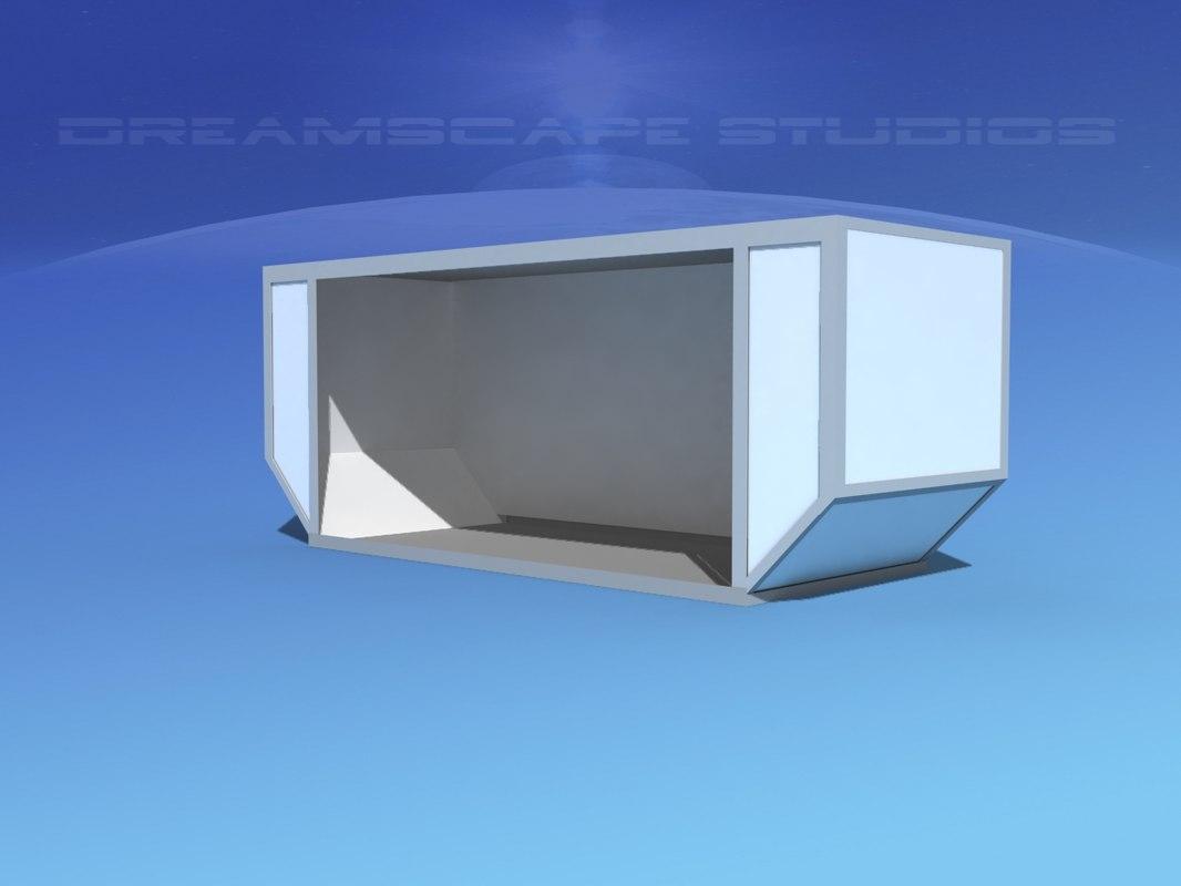 airport cargo iata 6 3D model