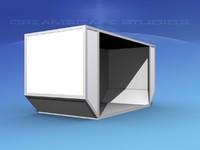 airport cargo iata 6b 3D model