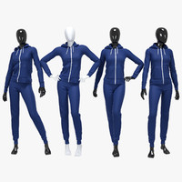 Female sport suit 2