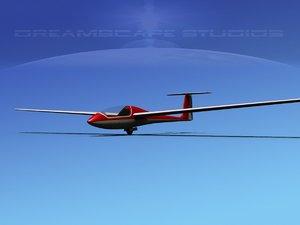 3D model venture sailplane