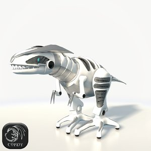 3D model roboraptor ready games