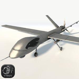 uav pterodactil 3D model