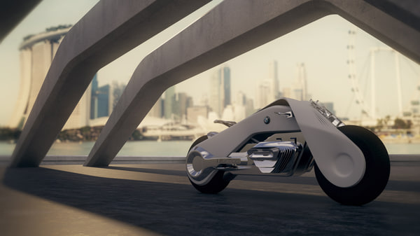 100 motorcycle 3D