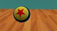 ball pixar 3D model