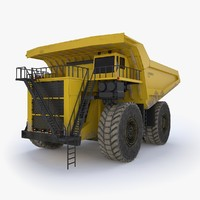 liebherr t282 industrial 3D model