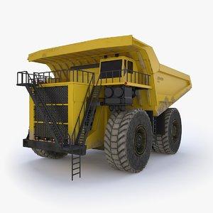 liebherr t282 industrial 3D model