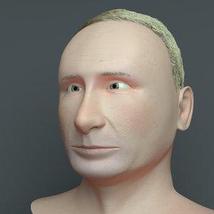3D head model
