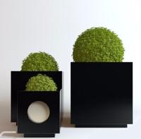 pot flowerpots 3D
