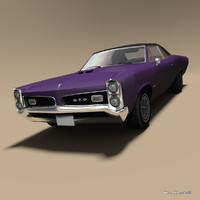 gto car 3D model