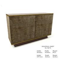 baker celestial chest 3674 3D model