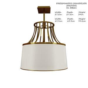 baker dressmakers chandelier bbs21 3D