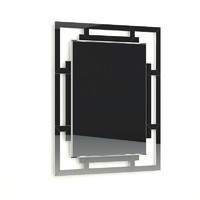 3D baker grand jewel mirror
