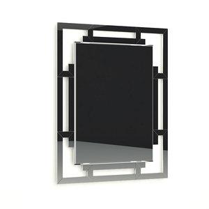 3D baker grand jewel mirror