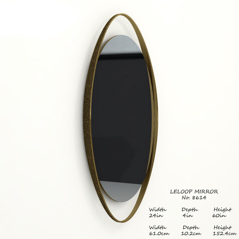 3D baker leloop mirror 8614 model