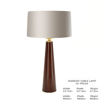 baker olympia table lamp 3D