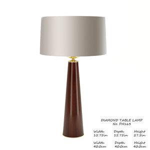 baker olympia table lamp 3D