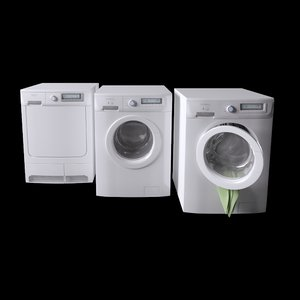 3D rex electrolux laundry machines