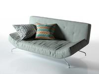 3D model sleeper sofa